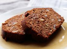 Cake chocolat carotte vegan