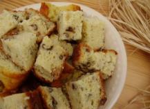 Cake Roquefort Poire Noix Thermomix