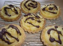 Tartelettes au Lemon Curd et chocolat