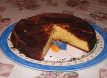 Gâteau à l'orange traditionnel