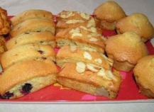 Farandole de cakes aux fruits et à l'huile d'olive
