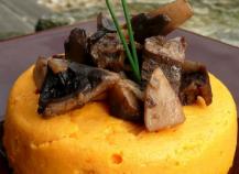 Flan de carottes au curry