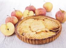 Tarte aux pommes amandes