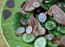 """Salade d""""agneau à la thailandaise"""