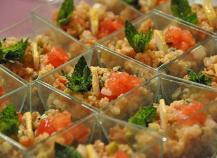 Taboulé de quinoa sauce moutardé
