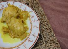 Poulet coco citron gingembre