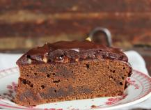 Gâteau au chocolat et aux noix facile
