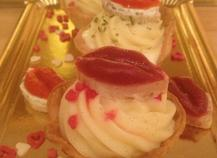 Cupcake salé pomme amandine