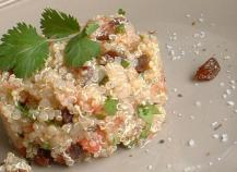 Taboulé de quinoa à l'orientale