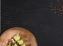 Salade d'endives rouges à l'aquitaine