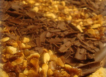 Entremets chocolat-spéculoos