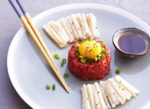 "Yukhwe "" Steak tartare"