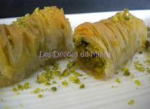 Baklavas rolls aux pistaches (recette libanaise)