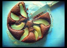Gâteau chocolat poire gourmand et sans gluten