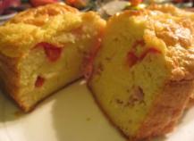 Cake jambon gruyère tomate