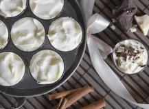 Mousse au chocolat blanc légère