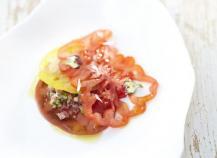 Ravioles de tomates by Pierre Sang Boyer