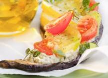 Tartine végétale provençale
