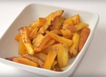 Recette frites l g res de patates douces 750g - Frite au micro onde ...