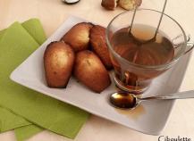 Authentiques madeleines de Commercy à la bergamote & au miel