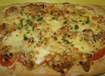 Pâte à pizza maison (pizza hut )