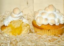 Cupcakes façon tarte au citron meringuée inratables