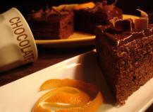 Moelleux chocolat aux zestes d'orange