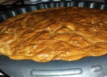 Gâteau au yaourt à la pomme sans sucre
