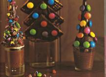Sapins de Noël aux Smarties