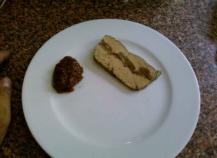 Terrine de foie gras à la figue
