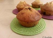 Muffins à la vanille & aux pépites de chocolat au lait