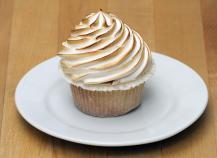 Cupcake citron-meringué