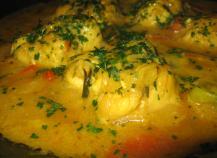 Curry de poisson façon wok
