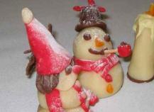 Noël en pâtes d'amandes