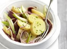 Salade de Princesse Amandine et magret aux pommes granny