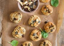 Cookies apéritifs aux graines