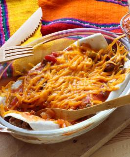 Comment faire des enchiladas de boeuf et haricots rouges ?