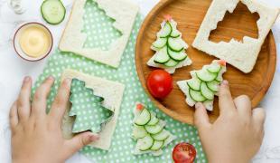 Nos meilleures idées de toasts de Noël