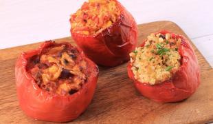 3 façons de préparer des poivrons farcis