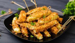 8 recettes de courgettes pour les fans de friture