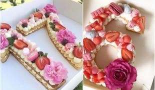 Number cake : la fin des bougies d'anniversaire ?