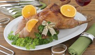 Accompagnement pour un canard à l'orange