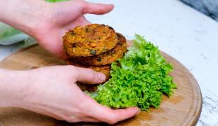 5 galettes de légumes de printemps