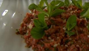 Tartare de viande crue - Kafta nayé