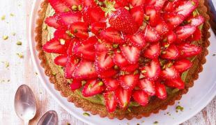 5 desserts fraise pistache irrésistibles