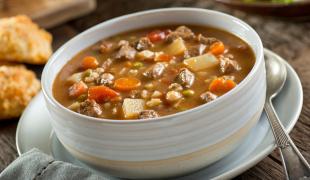 3 recettes de soupe repas, complètes & gourmandes