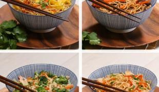 4 recettes faciles de nouilles aux oeufs