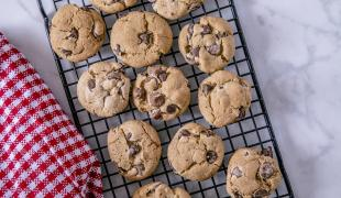 Les recettes de cookies aux deux chocolats