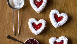 10 recettes en forme de coeur