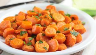 7 jours et 7 idées de recettes avec des carottes